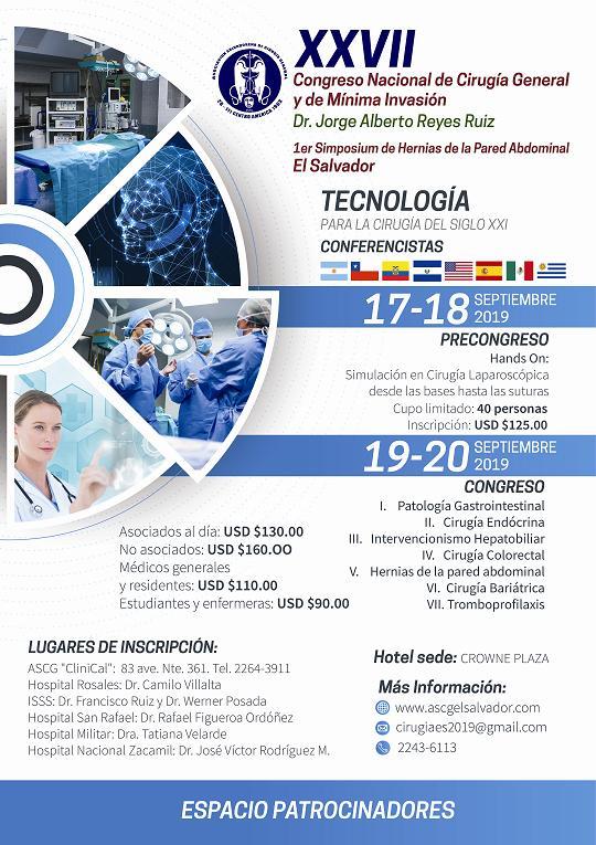 XXVII Congreso Nacional de Cirugía General