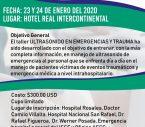 PRIMER CURSO USG EN EMERGENCIAS Y TRAUMA 2020